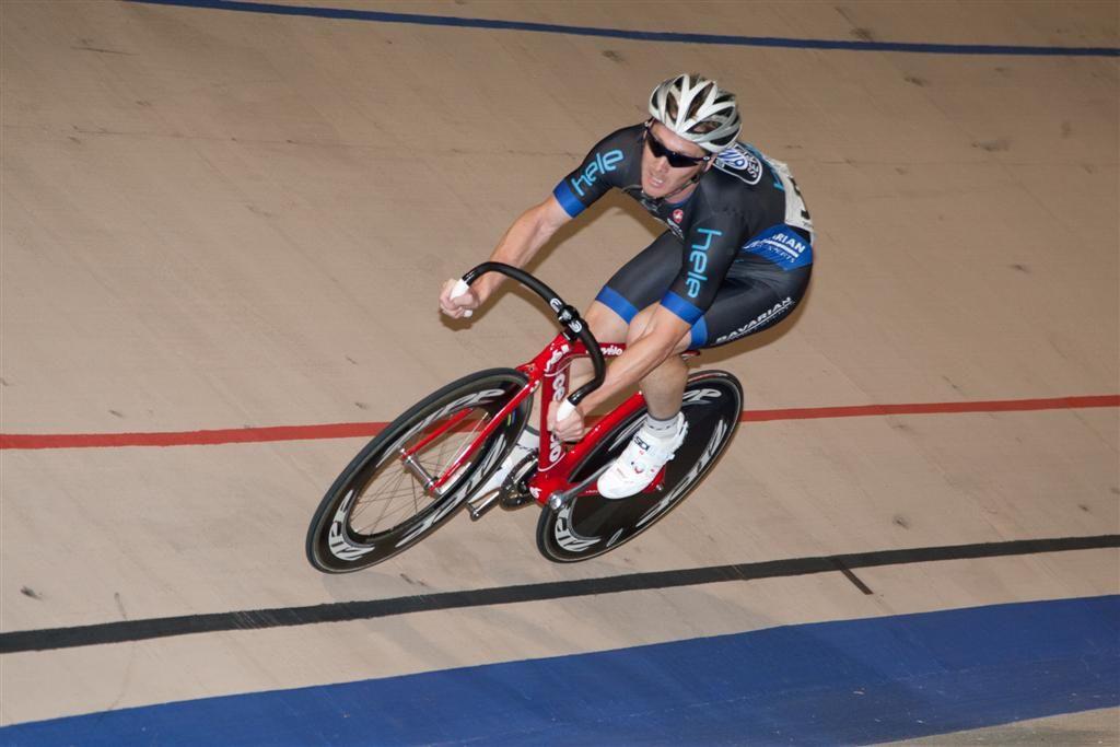 Scottish cyclist, Mike Zagorski—2x US National Track Champion, and 16x Hawaii State Champion