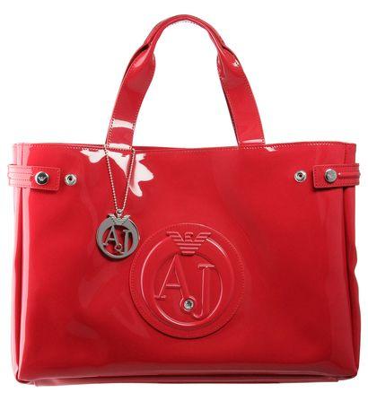 700a3d245f6 Sac À Main · Cabas vernis logotypé Armani Jeans pour Femme prix promo  Galeries Lafayette 129