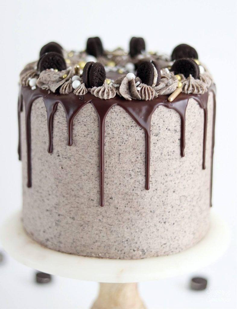 Ricetta Oreo Cookies amp Cream Cake Stile di vita e torta da Portland OregonRicetta Oreo Cookies amp Cr