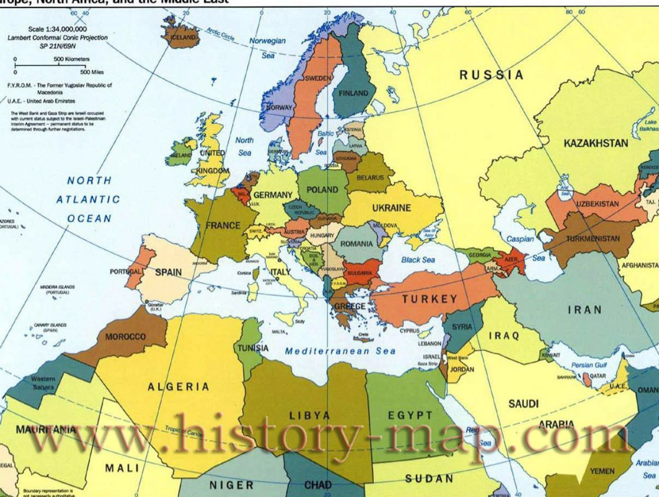 North Africa Sometimes Grouped With The Middle East