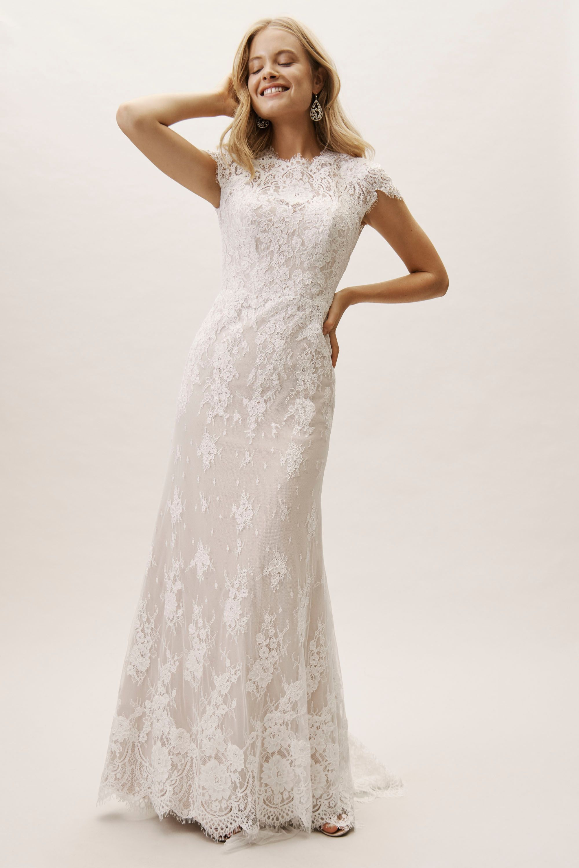 fcc1fcfd1e778 BHLDN's Wtoo by Watters Sandrine Gown in Ivory/blush in 2019 ...