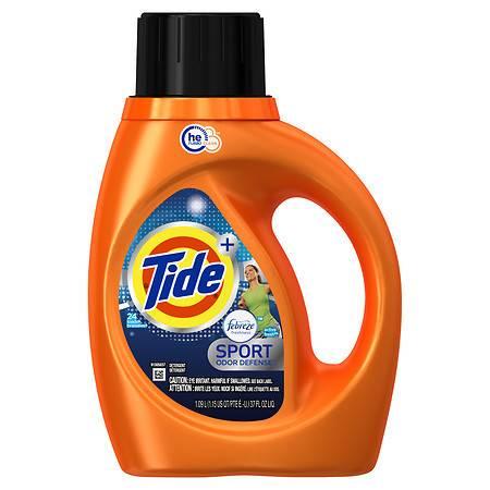 Tide With Febreze Freshness High Efficiency Liquid Detergent Sport