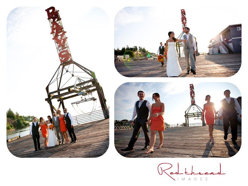 Married under the Ray's sign. Red Thread Images