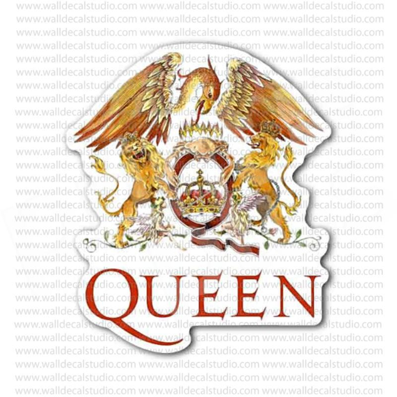 The Queen Rock Band Sticker Musicmovie Stickers In 2019