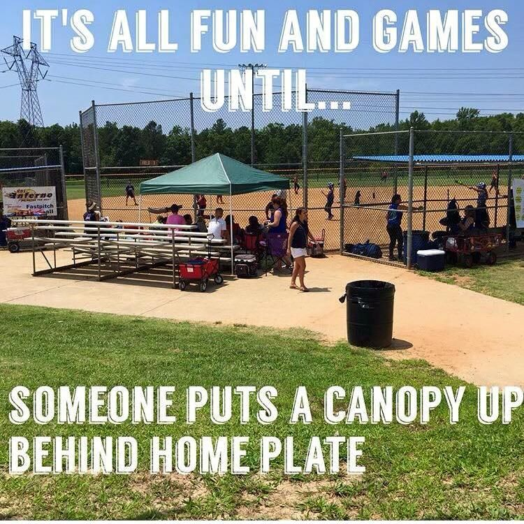 lol #softballprobs