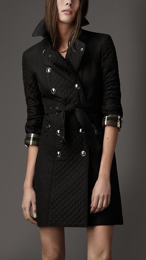 Burberry Quilted Trench Coat Stylish And Functional Clothes Trench Coats Women Trench Coat Outfit Spring
