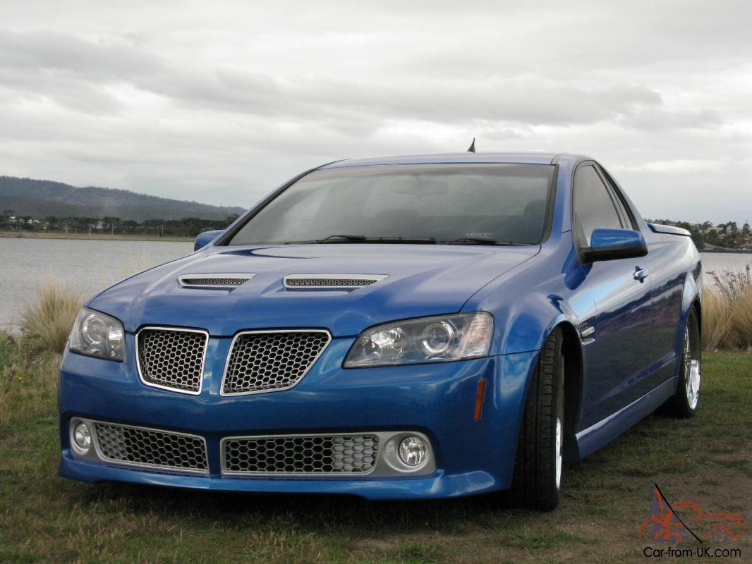 Holden Ve Ssv Limited Edition Ute My10 Pontiac G8 Gt 313 Kw Wheels