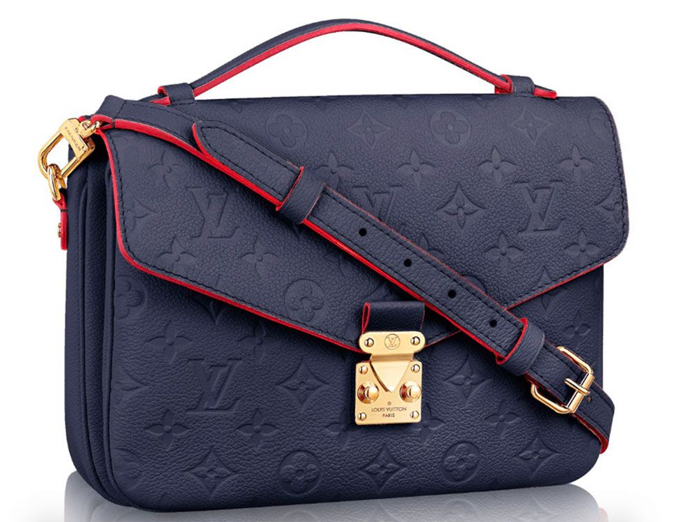 7ad45fec8d8 The Super Popular Louis Vuitton Pochette Métis Now Comes in Leather -  PurseBlog