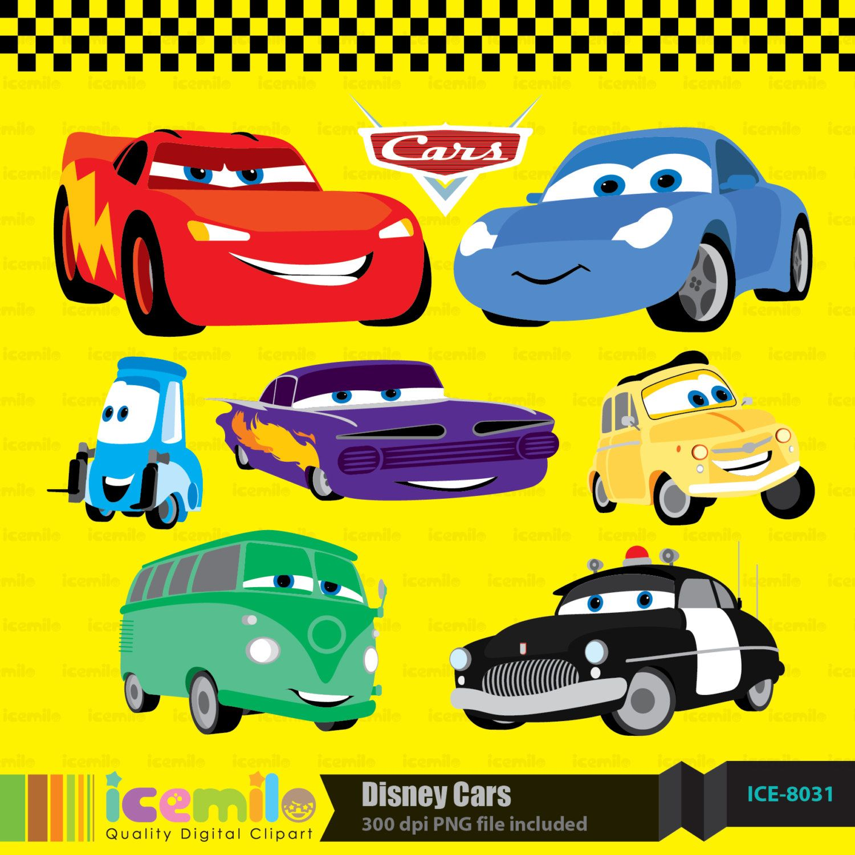 Disney Cars Digital Clipart April 17, 2014 at 01:49PM | Cosas que ...