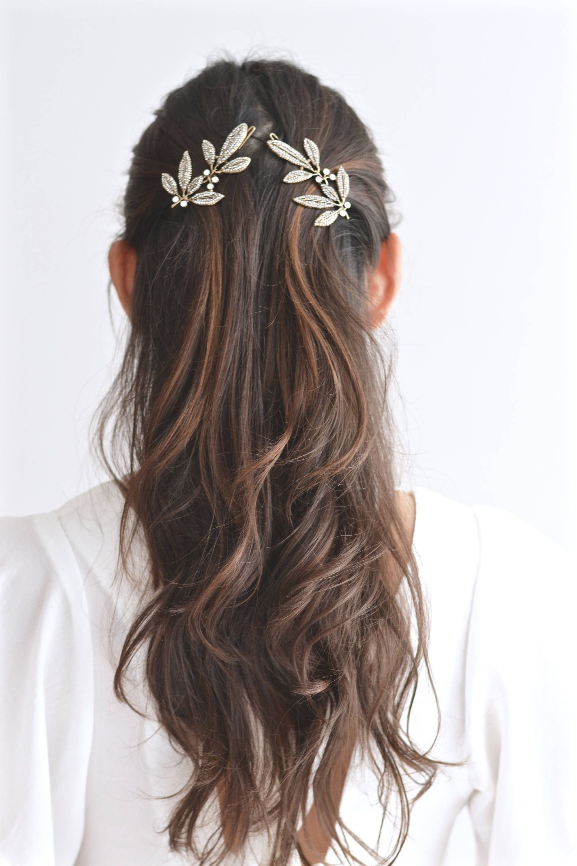 Bijoux de cheveux épingle à Cheveux Épingle Pince à Cheveux Strass Pince Barrette Hair