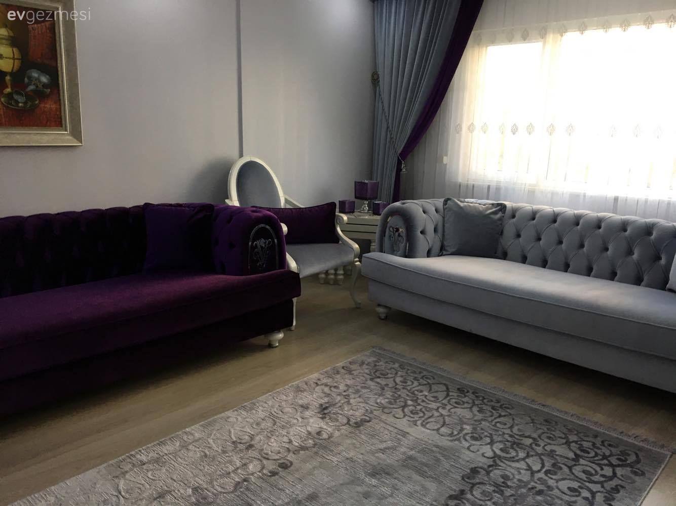 Klasik Stil Guclu Renkler Asli Hanimin Yenilenen Salonu Ev Gezmesi Mobilya Fikirleri Mobilya Renkler