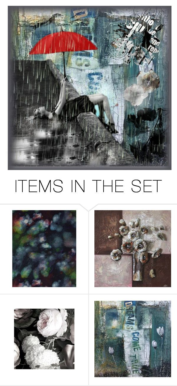 """""""Escape"""" by elyeyer ❤ liked on Polyvore featuring art"""
