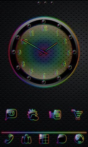 Sleek Ebony Rain Go Theme V1 0 Android Theme Phone Themes Android Theme Theme