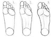 Füße zeichnen lernen  Lerne, Füße zu zeichnen    This image has get 3765 rep...