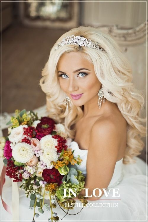 Half Up Half Down Hairstyles With Headband For Long Hair Wedding Wedding Hair Wit Long Hair Wedding Styles Wedding Hairstyles For Long Hair Wedding Hairstyles