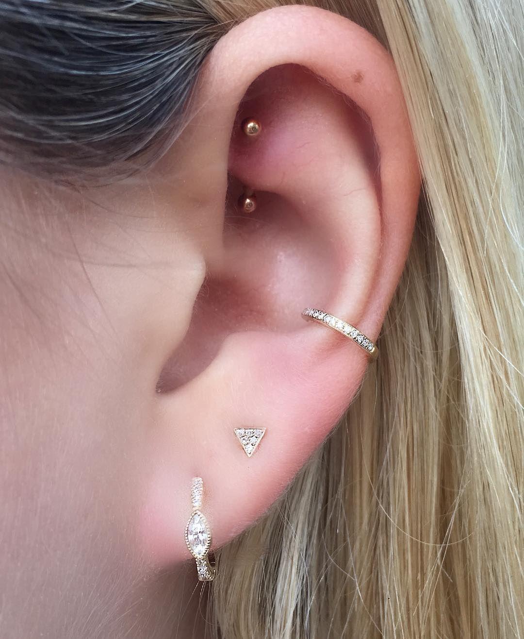 Instagram Piercings Cute Ear Piercings Earings Piercings