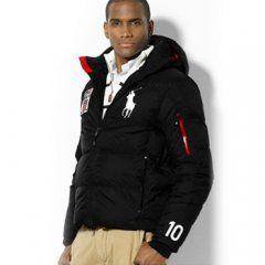 1002 Ralph Lauren para hombre chaqueta acolchada de Negro. Mens Quilted  JacketMens ...