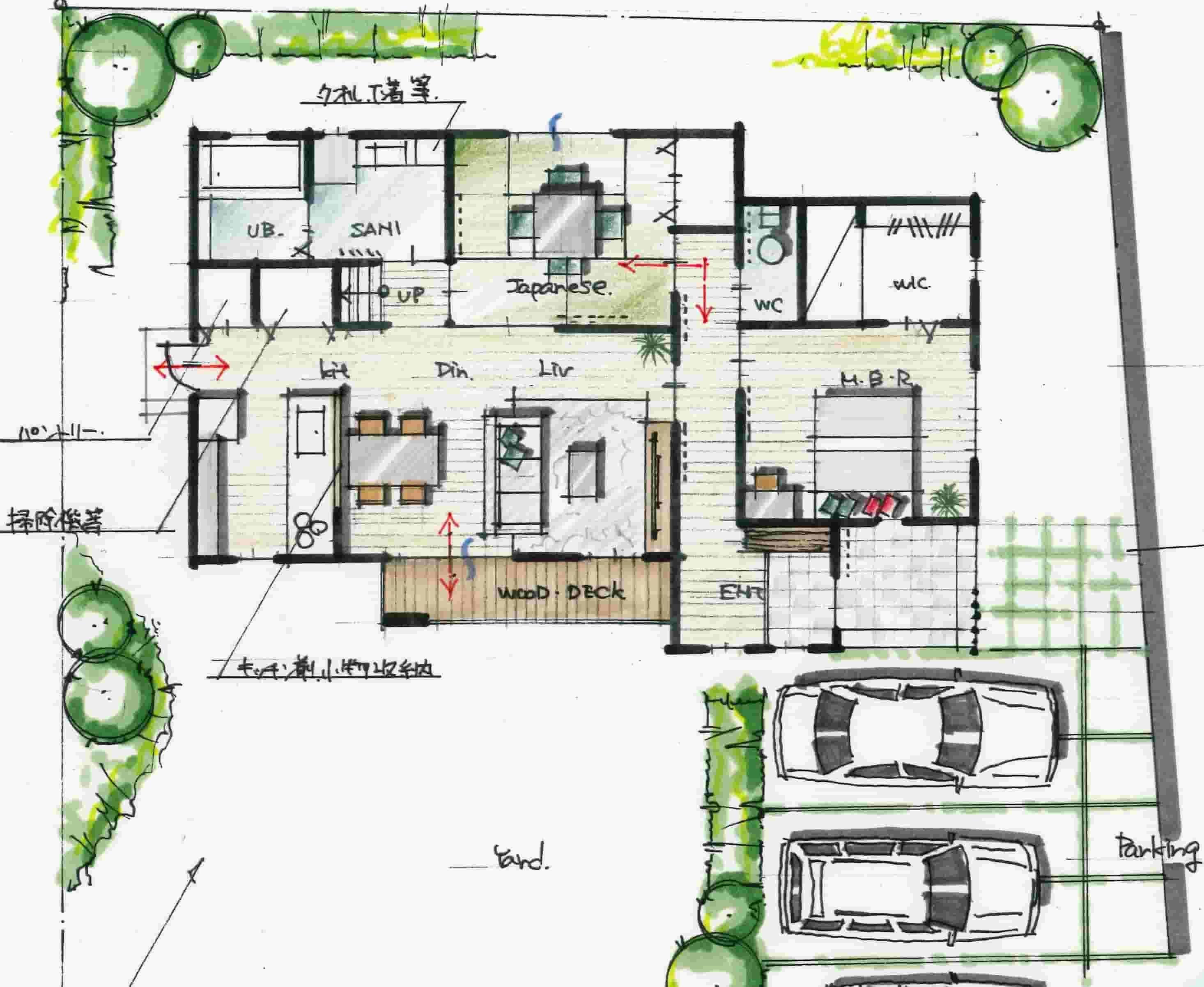 1階に寝室のある間取り(画像あり) | 間取り, 28坪 間取り, 1階