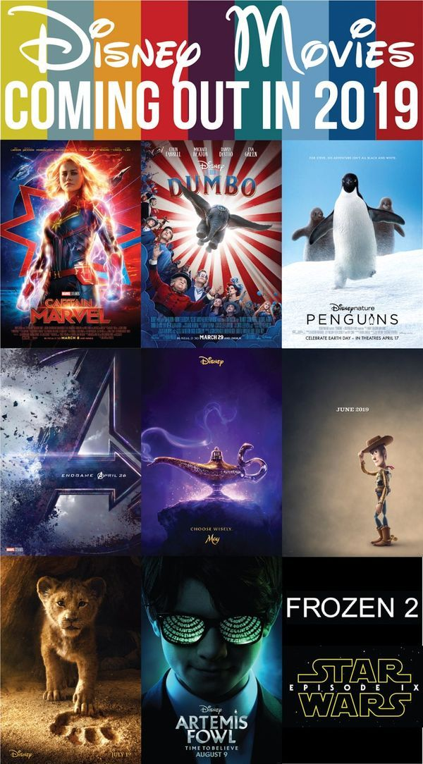 Disney Movies Coming Out in 2019 Disney movies coming