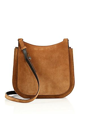 The Row Leather Hunting Bag 11
