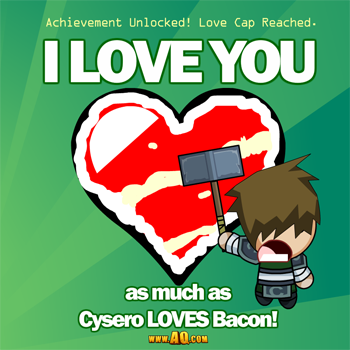 Love Bacon? Then you'll love this AdventureQuest Worlds Valentine's