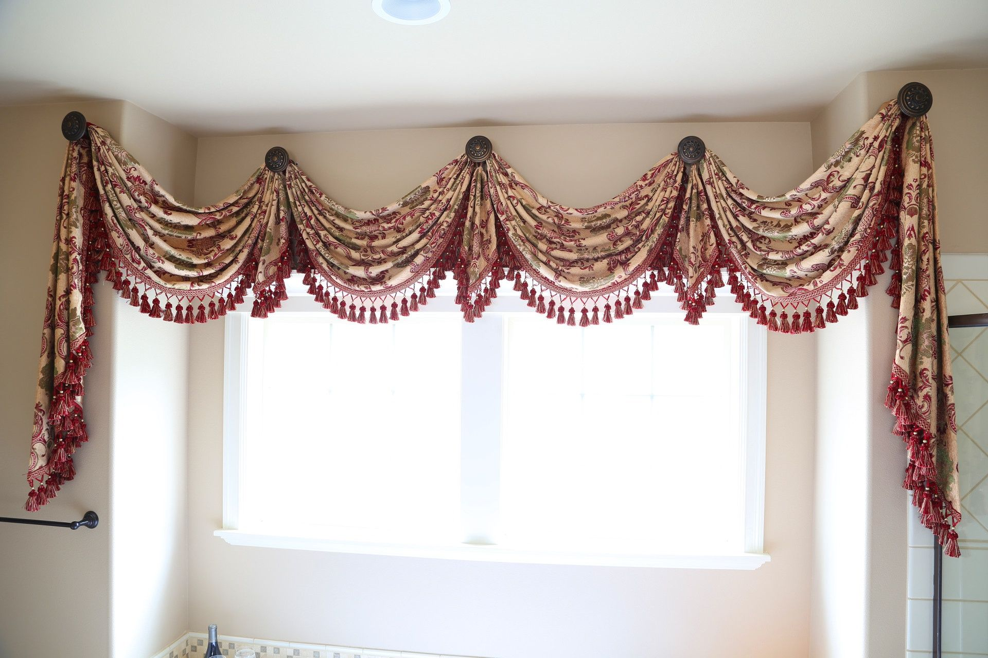 Display kitchen traditional kitchen swag curtains for kitchen