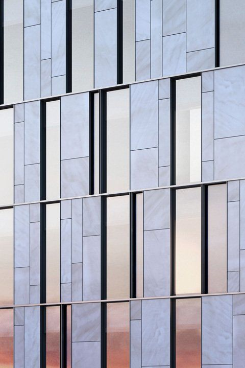 Modern Limestone Architecture Office Google Search Glass