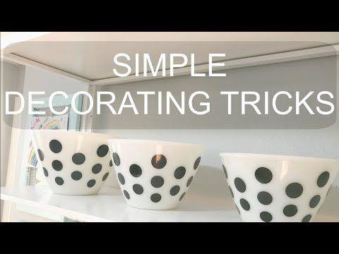 4 Simple Decor & Design Tricks - BV Kitchen Design  |Simple Decorating Tricks