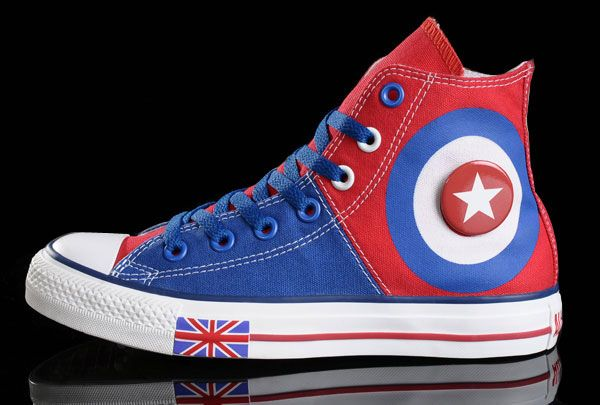 42f0b94bdc26 Reverse Captain America shield... 😞 Cute Converse