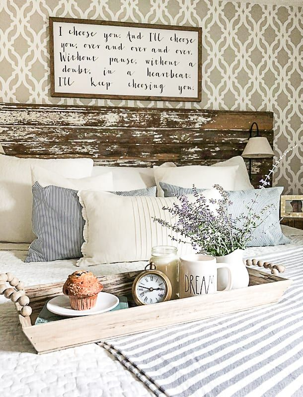 Mini Budget Bedroom Makeover is part of bedroom Makeover How - Want to change your bedroom but don't want to spend a lot of money  Click over to see a mini budget bedroom makeover that will make it feel brand new