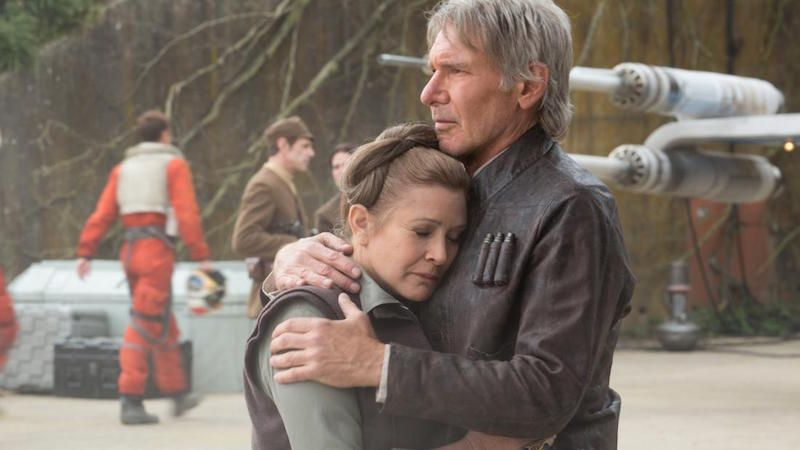 JJ Abrams Finally Explains Why Leia Snubbed Chewie at the End of The Force Awakens