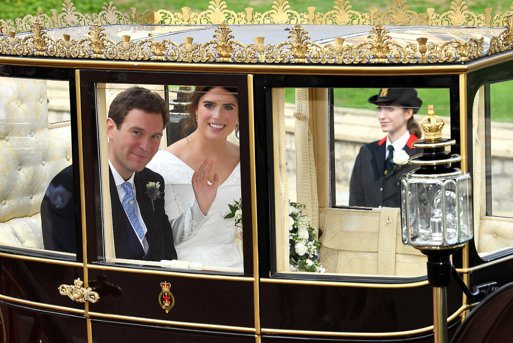 See the Romantic Wedding Photo That Princess Eugenie Has