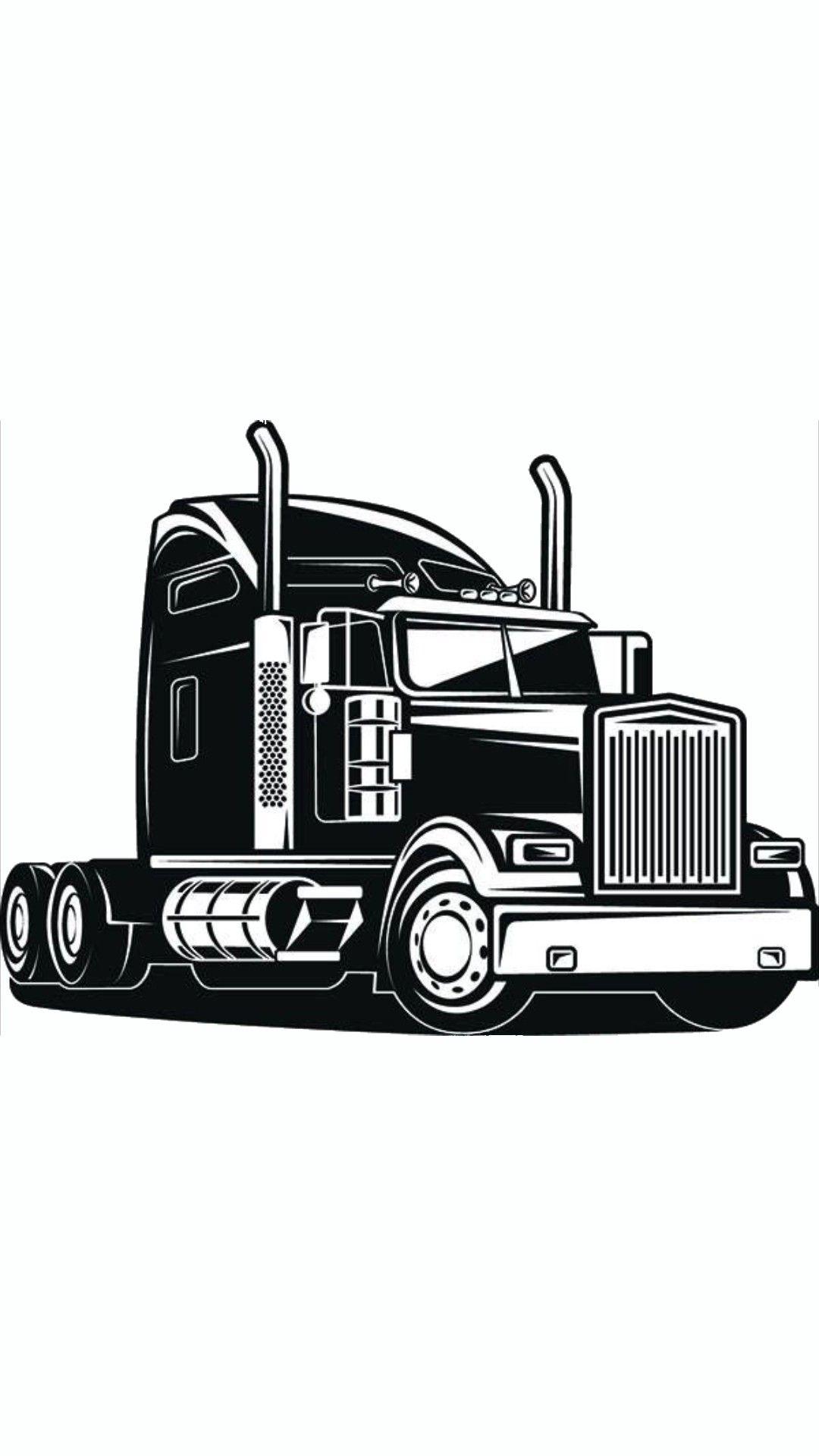 Pin De Darien Brouck En Chris Tattoo Sleave Camion De Volteo Camion Dibujo Camiones Kenworth