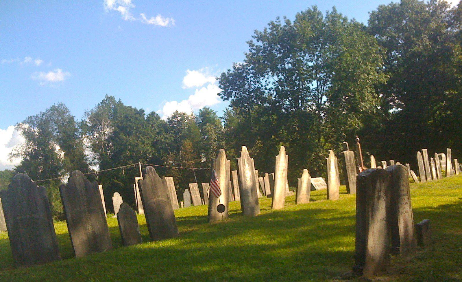 Center cemetery northfield ma 8272011 cemetery tree