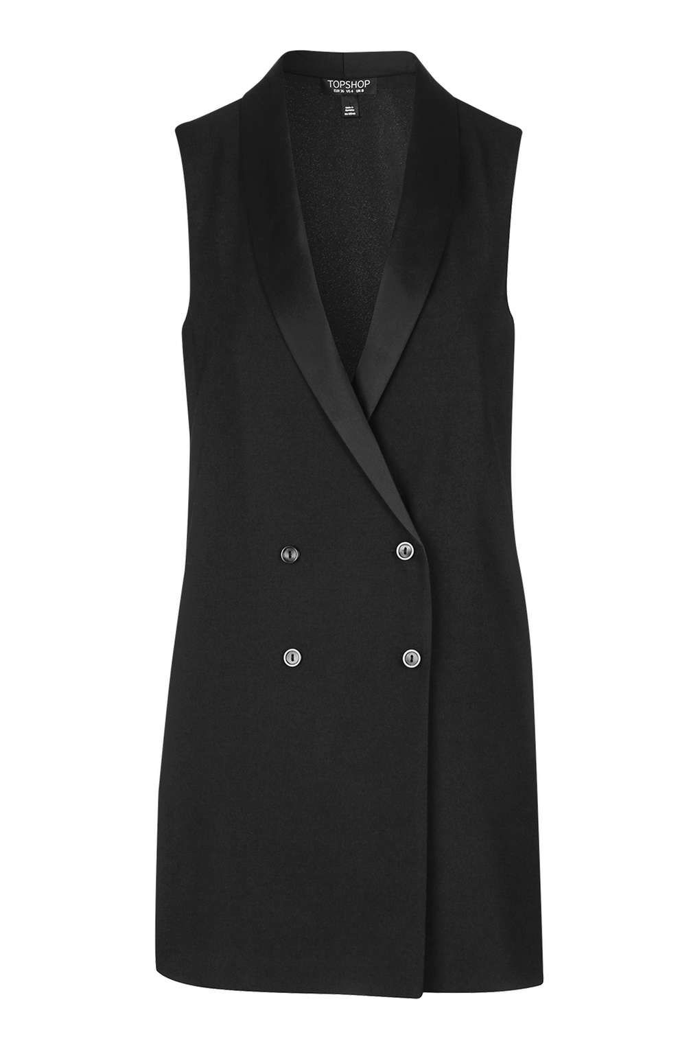 Buy Online Topshop Womens Tall Longline Sleeveless Jacket - Inexpensive Online Free Shipping Cheapest Price Marketable Excellent For Sale FpKceCDGX