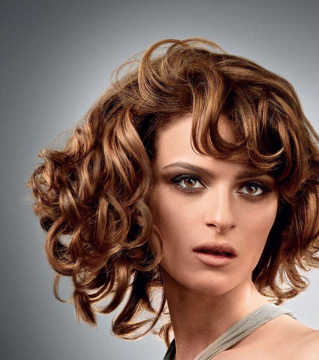 картинки причесок для вьющихся волос цветом волос, добавляйте