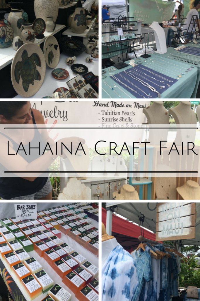 Lahaina Craft Fair Shop For Hawaii Souvenirs And Gifts