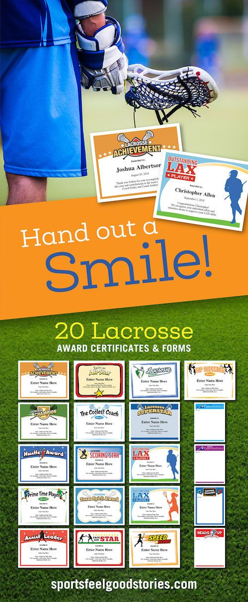 Lacrosse certificates templates lacrosse and scores lacrosse certificates templates awards for boys and girls teams youth high school and adult yelopaper Gallery