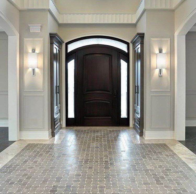 Grand Foyer Tiles : Raise your hand if you remember this grand entrance