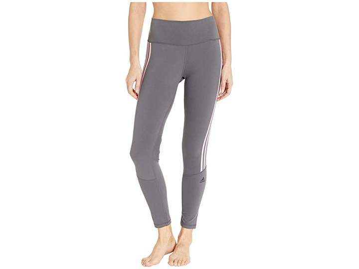 Believe This 3 Stripes High Waist Ankle Leggings