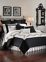 Lenox Timeless Comforter Set, Shams, Pillows and Window | LinenSource