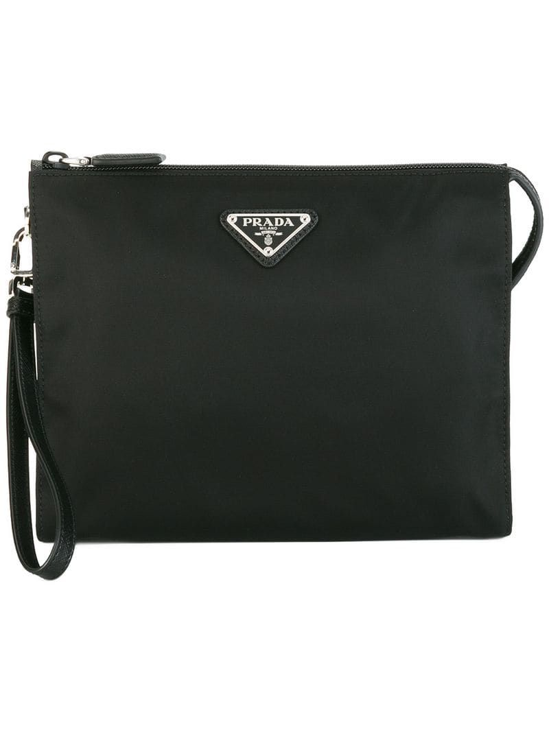 012d4be713fe PRADA PRADA NYLON WASH BAG - BLACK. #prada | Prada | Prada, Bags ...