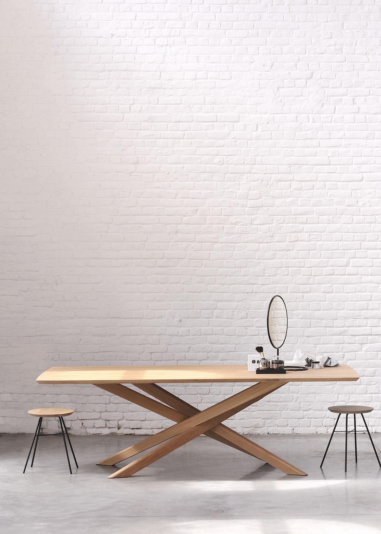 Mikado Dining Table Oak Dining Table Dining Table Legs Dining Table Design [ 2100 x 1500 Pixel ]
