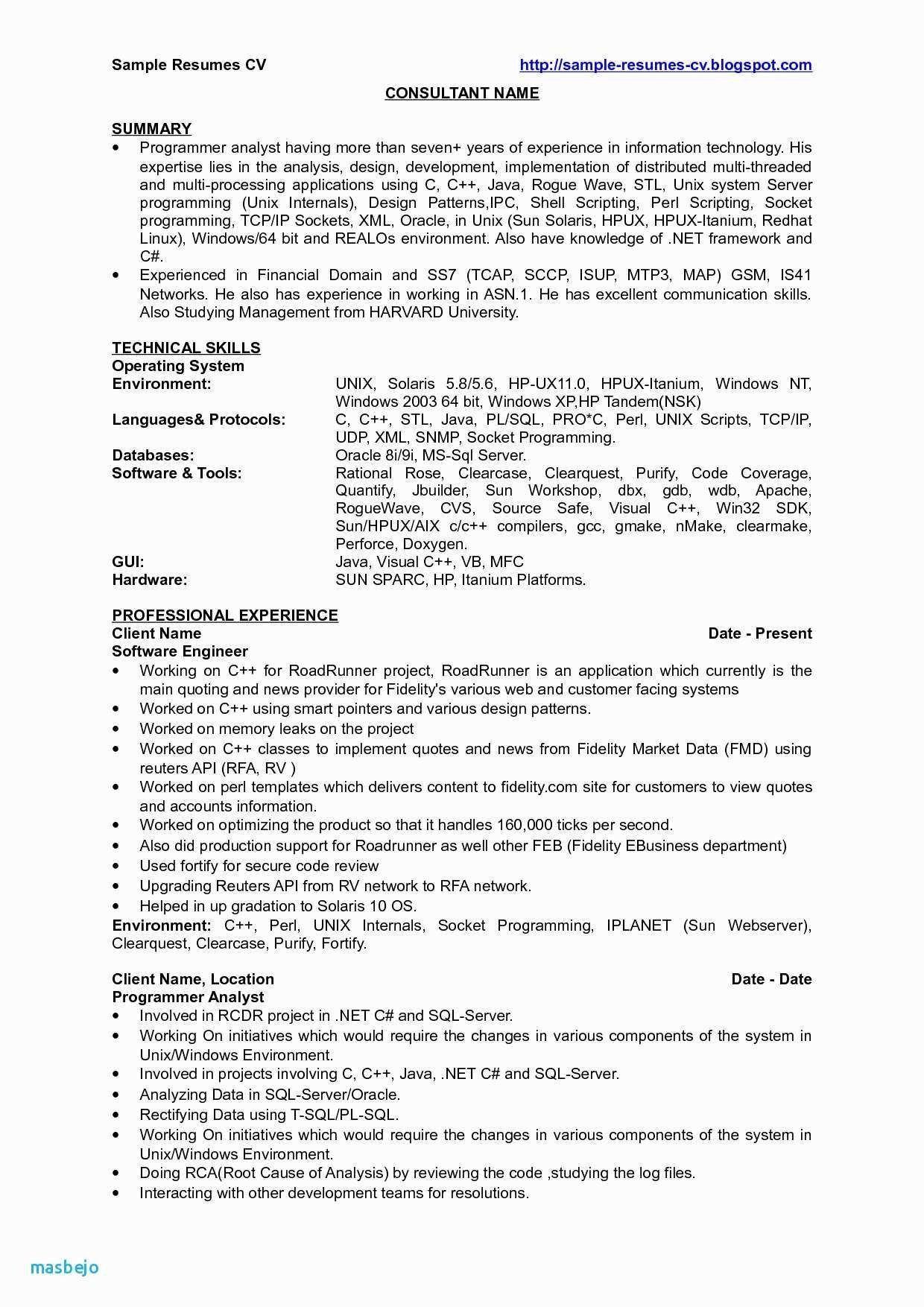 30 sample resume for java developer fresher job resume