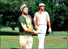 "Bill Murray and Chevy Chase in Caddyshack - ""a real ..."