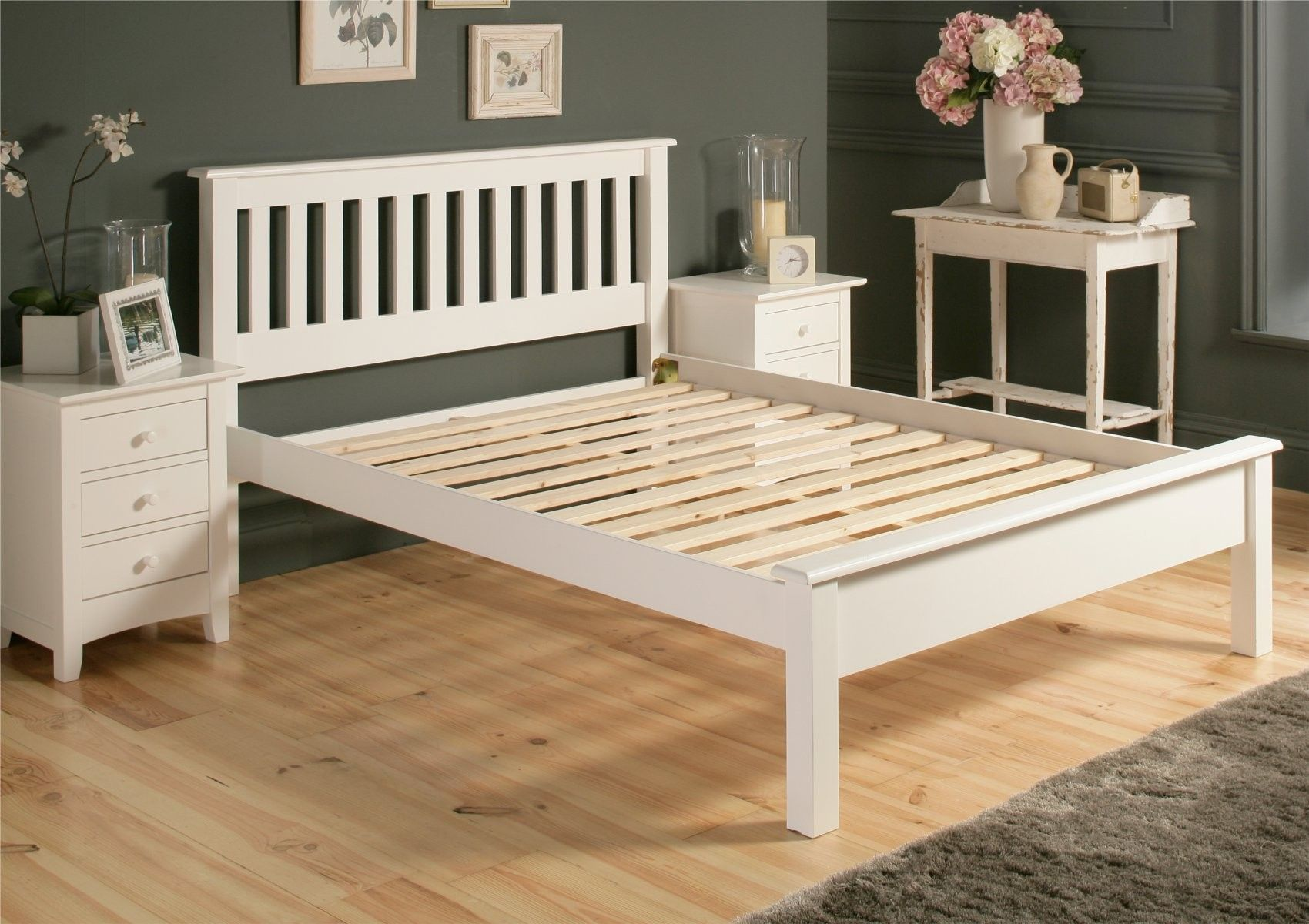 Innovation Design Of White Shaker Bedroom Furniture And Wooden Bed Frame Lfe