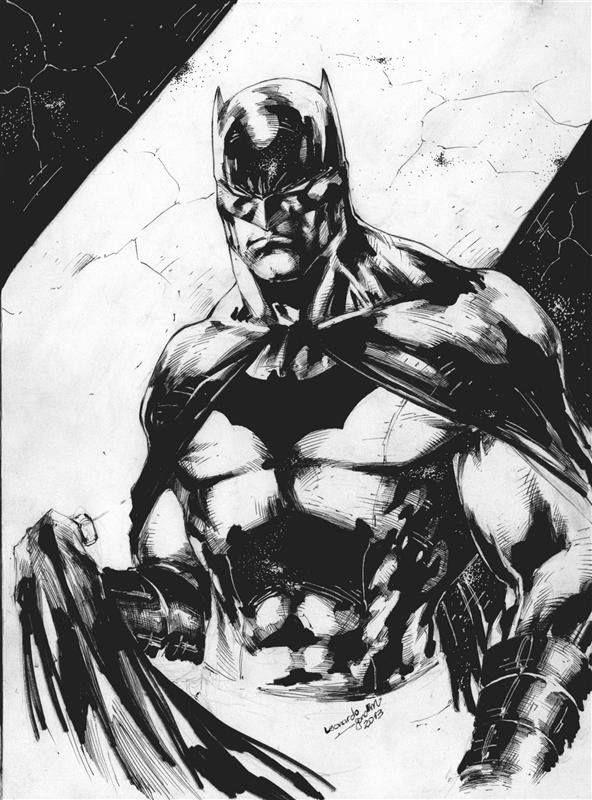 Batman by Leonardo Gondim