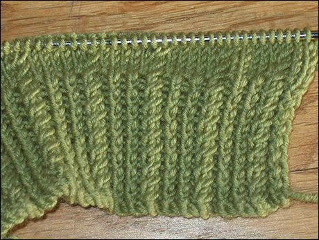 Mini Cable And Twisted Knit Stitch Knitting Pinterest