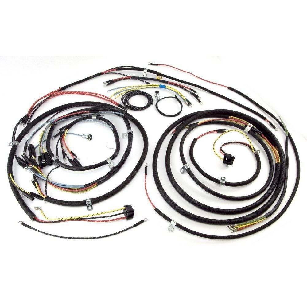 Wiring For Cj3a Jeep Electrical Diagrams 52 Willys Buy Harness W Turn Signal 48 53 At Get4x4parts 1952