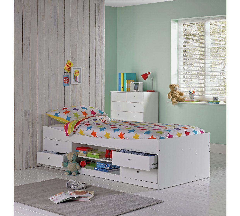Buy Argos Home Malibu Cabin Bed Frame - White | Kids beds ...